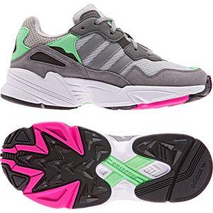 adidas Originals Yung-96 J Kinder Sneaker grau grün DB2802 – Bild 3