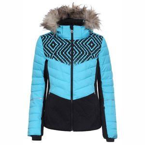 Icepeak Vevina Damen Ski Winterjacke turquoise 2-53 214 513 XF 334 – Bild 1