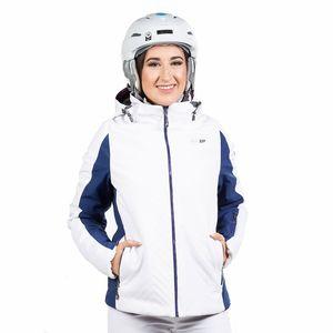 West Scout Jane Padded Jacket Damen Skijacke weiß blau 186WSWJ00414  – Bild 1