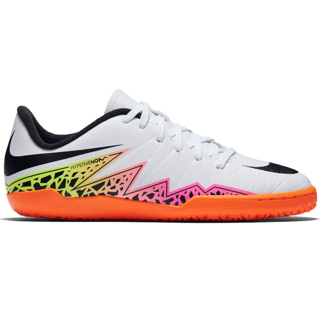 Phelon weiß orange Nike Hallenschuhe 749920 IC JR 108 Hypervenom II tsBhxroQdC
