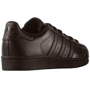 adidas Originals Superstar J Sneaker schwarz B25724 – Bild 3
