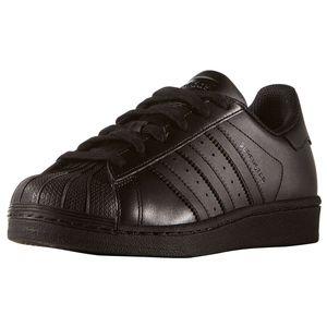 adidas Originals Superstar J Sneaker schwarz B25724 – Bild 4