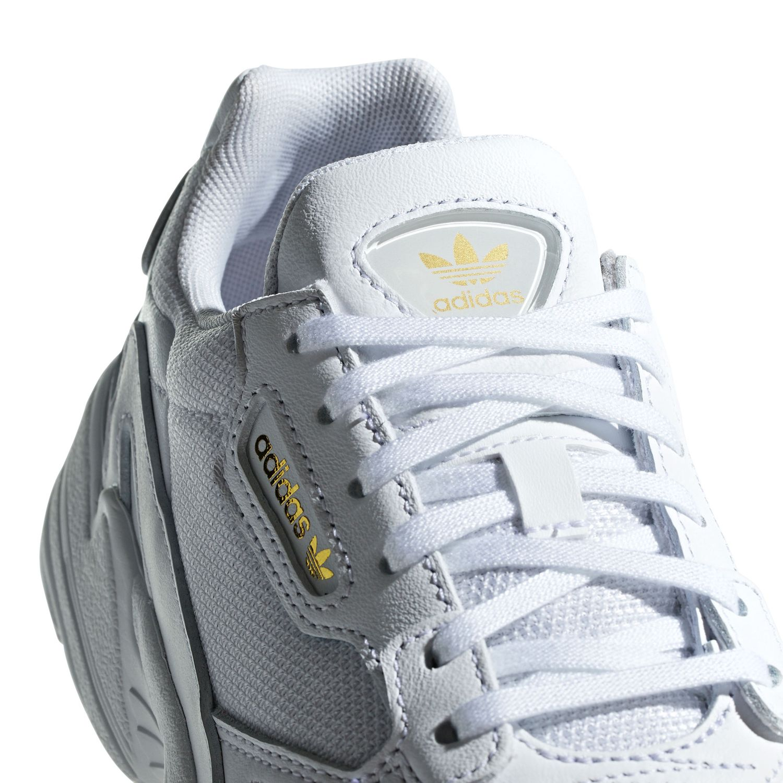 97070c107f24ec adidas Originals Falcon W Damen Sneaker weiß gold EE8838 – Bild 6