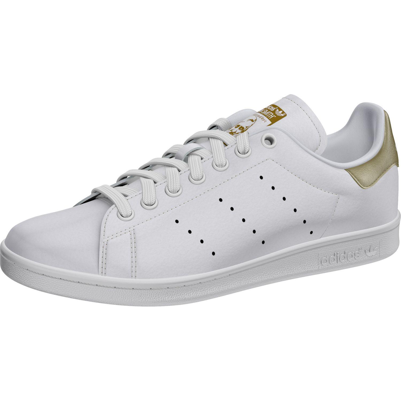21b79a0d9a590c adidas Originals Stan Smith W Sneaker weiß gold EE8836 – Bild 5