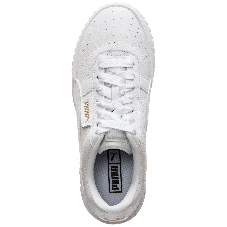 b8552dbfb8e530 Puma Cali Damen Sneaker weiß gold 369155 01 – Bild 4