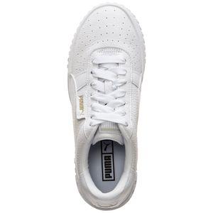 Puma Cali Damen Sneaker weiß gold 369155 01 – Bild 4