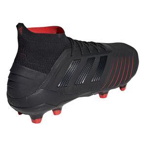 adidas Predator 19.1 FG Herren Fußballschuh schwarz rot BC0551 – Bild 7