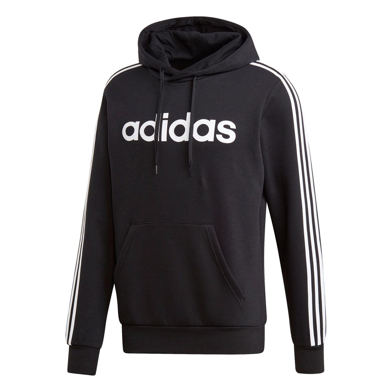 promo code 705e7 5e273 adidas Essentials 3-Stripes Hoodie Herren DQ3096 schwarz weiß