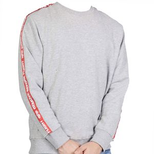 Alpha Industries RBF Tape Sweater Herren grau – Bild 1