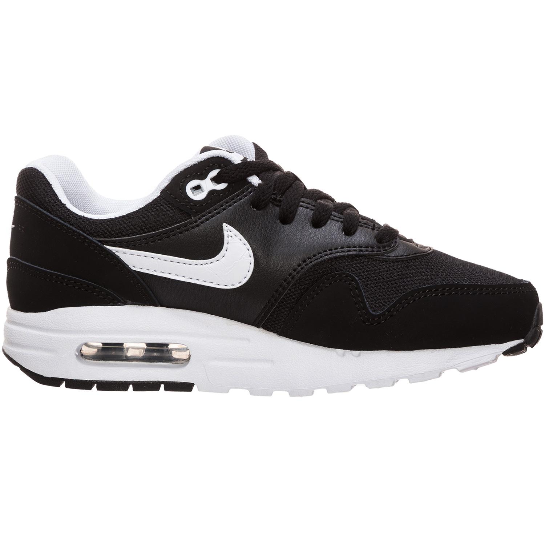 Nike Air Max 1 GS Sneaker schwarz weiß 807602 001