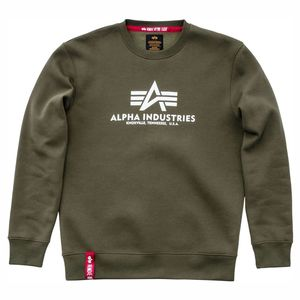 Alpha Industries Basic Sweater Pulli Herren dark olive 178302 142