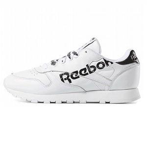 Reebok Classic Leather Damen Sneaker weiß schwarz DV3830 – Bild 2