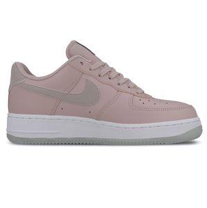 Nike WMNS Air Force 1 '07 ESS Damen Sneaker rosa weiß AO2132 500 – Bild 1