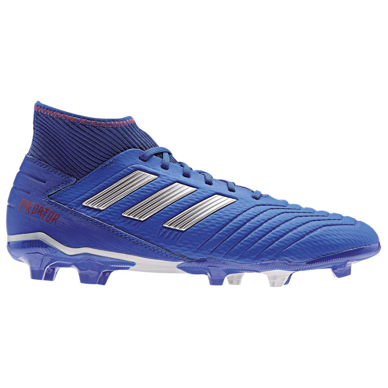 adidas Predator 19.3 FG Herren Fußballschuhe blau silber BB8112