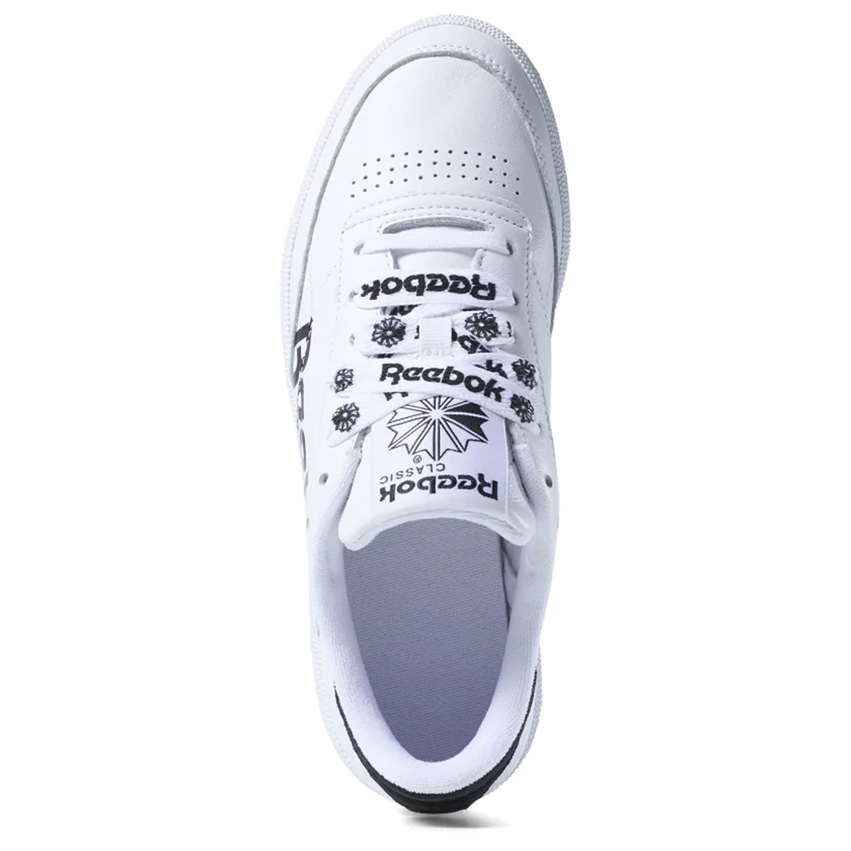100% authentic 3092e cd0da Reebok Club C 85 Damen Sneaker weiß schwarz Leder DV3833