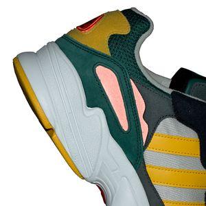 adidas Originals Yung-96 Herren Sneaker grau gelb schwarz DB2605 – Bild 10