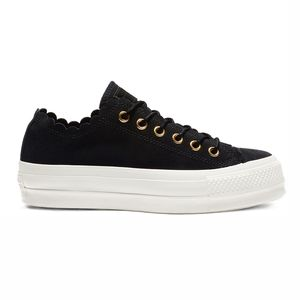 Converse CT AS LIFT OX Chuck Taylor All Star 563499C black egret – Bild 1
