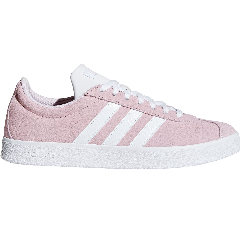neu kommen an größte Auswahl an marktfähig adidas neo VL Court 2.0 Damen Sneaker pink weiß F35128