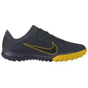 Nike Vapor 12 Pro TF Multinocken Fußballschuhe grau gelb AH7388 070 – Bild 1