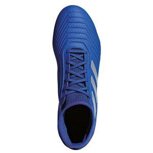 adidas Predator 19.3 FG J Kinder Fußballschuhe blau silber CM8533 – Bild 4