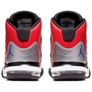 Jordan Max Aura GS Kinder Sneaker schwarz rot AQ9214 600 – Bild 3
