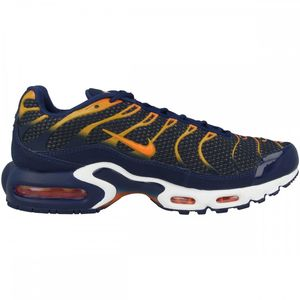 Nike Air Max Plus Herren Sneaker blau orange 852630 408 – Bild 1