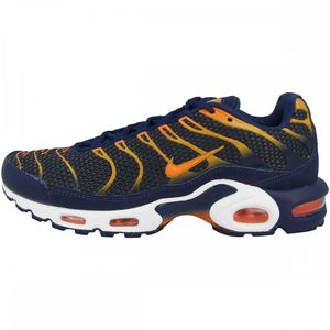 Nike Air Max Plus Herren Sneaker blau orange 852630 408 – Bild 2