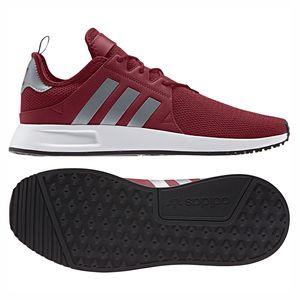 adidas Originals X_PLR Herren Sneaker weinrot silber weiß – Bild 3