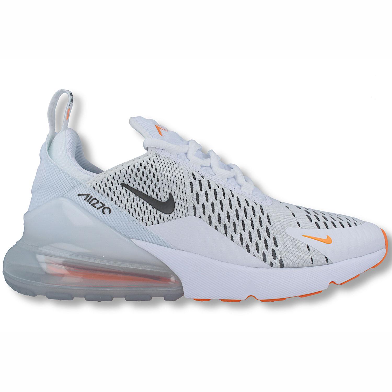 ae7e0635563c47 Nike Air Max 270 Herren Sneaker weiß schwarz orange AH8050 106