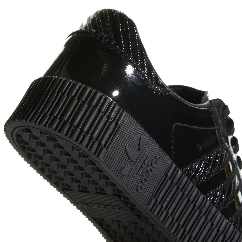 adidas Originals Sambarose W Damen Sneaker schwarz lack CG6618