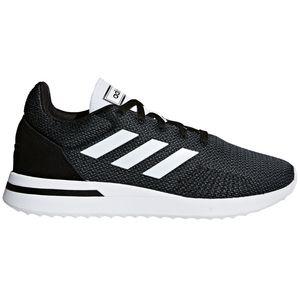 adidas neo RUN7OS Herren Running Sneaker schwarz weiß B96550 – Bild 1