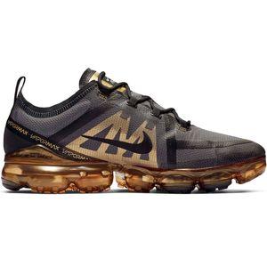 Nike Air Vapormax 2019 Herren Sneaker schwarz grau gold AR6631 002