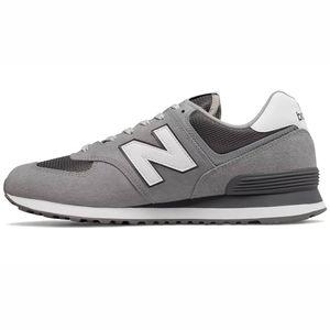 New Balance ML574EST Herren Sneaker low hellgrau weiß – Bild 2