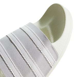 adidas Originals Adilette Badeschuhe off white grey CG6435 – Bild 2