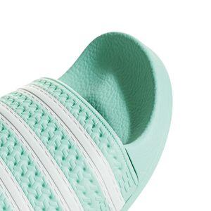 adidas Originals Adilette W Damen Badeschuhe clear mint CG6538 – Bild 2