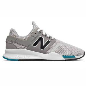 New Balance Herren MS247FC Sneaker grau weiß blau low – Bild 1