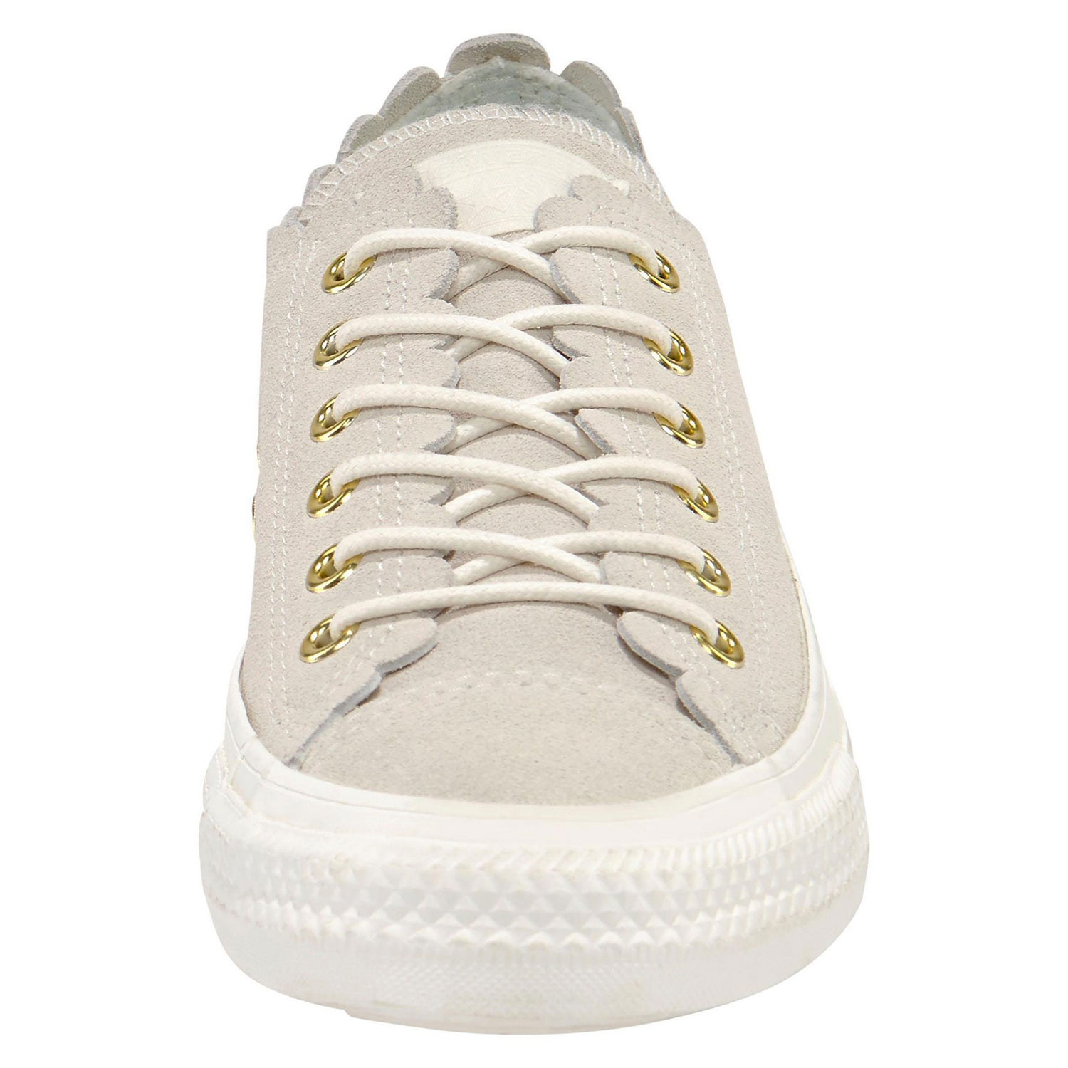 eb17c2ceef038 Converse CT AS OX Chuck Taylor All Star Leder grau gold 563418C – Bild 5