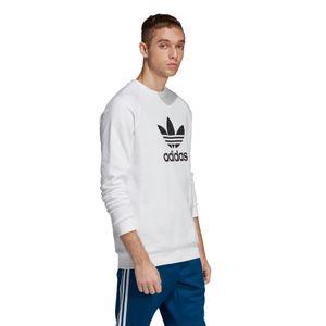 adidas Originals Trefoil Herren Crew Sweater weiß DV1544 – Bild 3