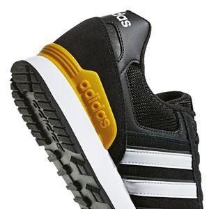 adidas neo 10K Herren Sneaker schwarz weiß gelb F34457 – Bild 2