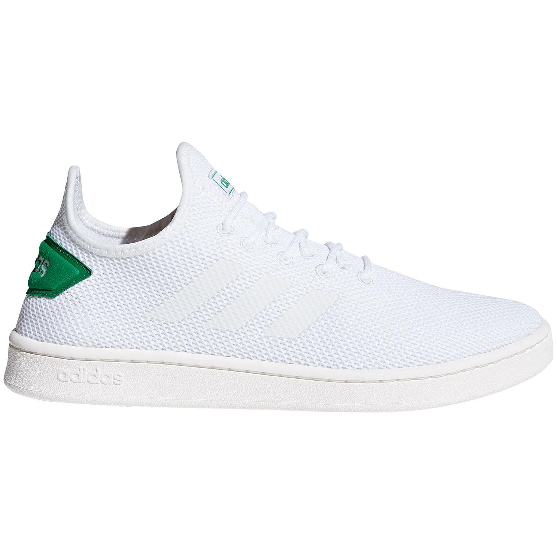 adidas neo Court Adapt Herren Sneaker weiß grün F36417