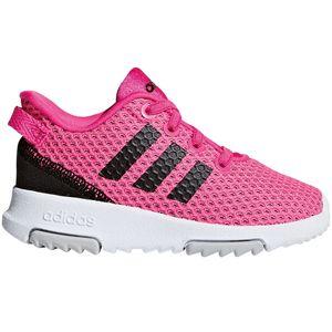 adidas neo Racer TR INF Kinder Sneaker pink schwarz weiß F36450 – Bild 1