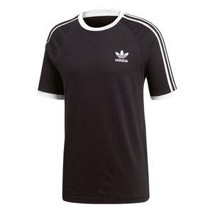 adidas Originals 3-Stripes Tee Herren T-Shirt schwarz CW1202