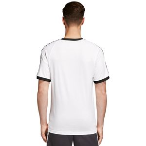 adidas Originals 3-Stripes Tee Herren T-Shirt weiß CW1203 – Bild 4