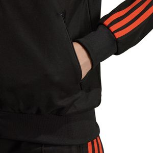 adidas Originals SST Track Top Damen Jacke schwarz orange DU9941 – Bild 8