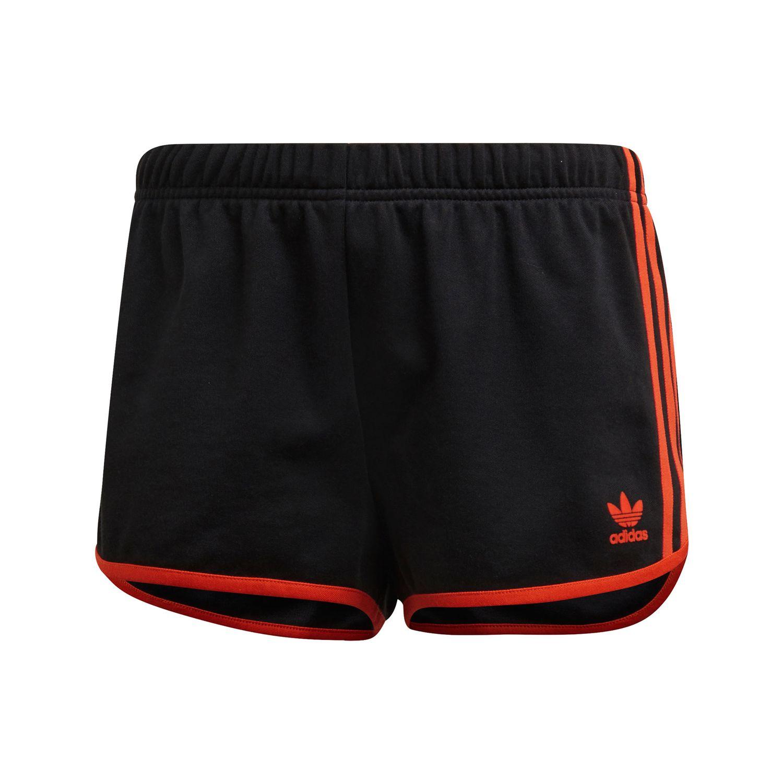 adidas Originals 3-Stripes Short Damen schwarz orange DU9938