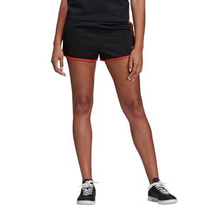 adidas Originals 3-Stripes Short Damen schwarz orange DU9938 – Bild 5