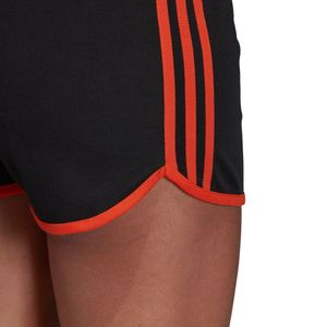 adidas Originals 3-Stripes Short Damen schwarz orange DU9938 – Bild 9