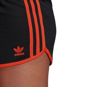 adidas Originals 3-Stripes Short Damen schwarz orange DU9938 – Bild 10
