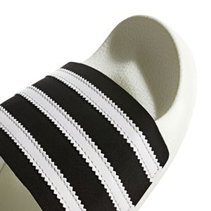 adidas Originals Adilette Badeschuhe off white black BD7592 – Bild 2