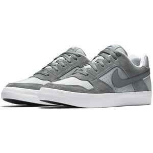 Nike SB Delta Force Vulc Herren Skateschuh grau weiß 942237 001 – Bild 2